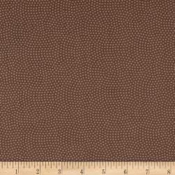 Timeless Treasures Spin Dot Mocha Fabric