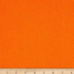 Timeless Treasures Spin Dot Orange Fabric