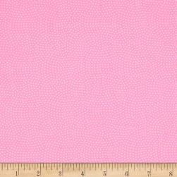 Timeless Treasures Spin Dot Pink Fabric
