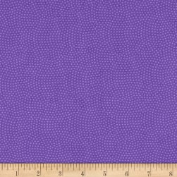 Timeless Treasures Spin Dot Purple Fabric