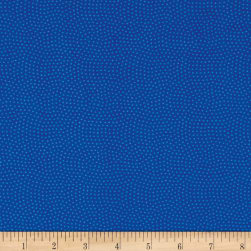 Timeless Treasures Spin Dot Royal Fabric
