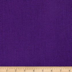 Timeless Treasures Spin Dot Violet Fabric