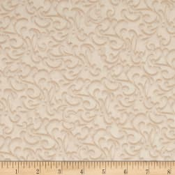 How Great Thou Art Scroll Cream Fabric