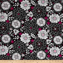 En Vogue Contempo Floral Black