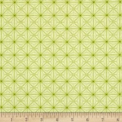 Sophia Diamond Geo Patch Light Green Fabric