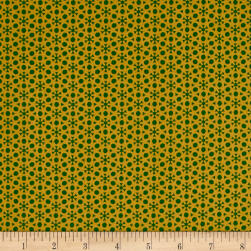 Sophia Dot Geo Green Fabric