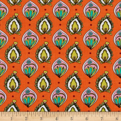Ink & Arrow Paloma Foulard Orange