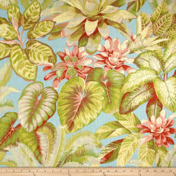 Tommy Bahama Botanical Bliss Basketweave Caribbean Fabric