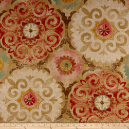 Waverly Captivated Linen Blend Antique Fabric