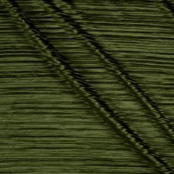 Pleated Bodre Solid Light Olive Fabric