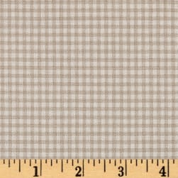 Magnolia Home Fashions Madrid Check Sand Fabric