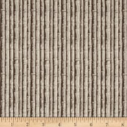 Indigo Influence Bamboo Tan Fabric