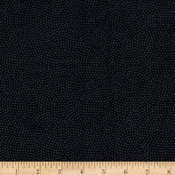 Timeless Treasures Flannel Spin Dot Charcoal Fabric