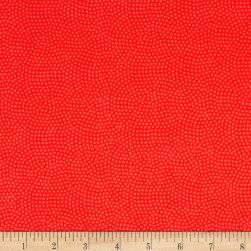 Timeless Treasures Flannel Spin Dot Coral Fabric