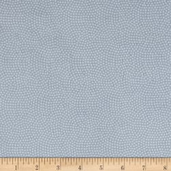 Timeless Treasures Flannel Spin Dot Grey Fabric