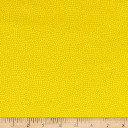 Timeless Treasures Flannel Spin Dot Lemon Fabric