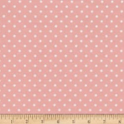 Timeless Treasures Flannel Dot Sweet Fabric