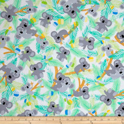 Kanvas Koala Baby Koalas In Trees White/Jade