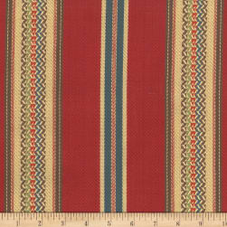 Laura & Kiran Southwest Stripes El Dorado Red