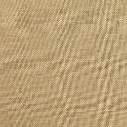 European Linen Blend Light Tan Fabric