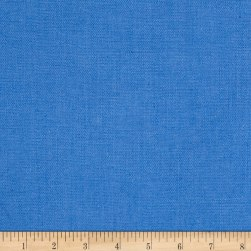 European Linen Blend French Blue Fabric