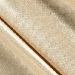 Slinky Foil Lame Knit Cream/Gold
