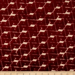 Swavelle/Mill Creek Clara Velvet Ruby Fabric