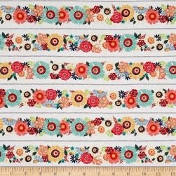 Flamingo Fever Bloom Trim Fabric