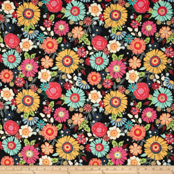 Flamingo Fever Chica Blooms Fabric