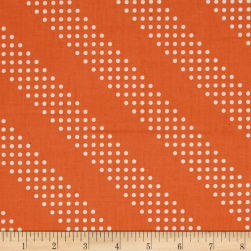 Cotton + Steel Dottie Tangerine Fabric