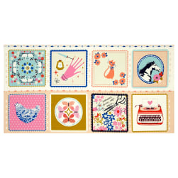 Cotton + Steel Beauty Shop Hankie 23.5