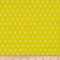 Cotton + Steel Beauty Shop Drops Yellow Fabric