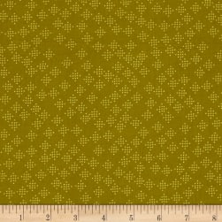 Cotton + Steel Lagoon Speckles Mustard Fabric