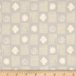 Cotton + Steel Sienna Stamps Stone Fabric