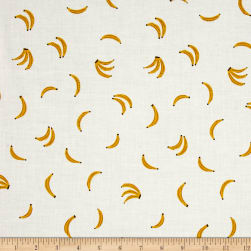 Cotton + Steel Lagoon Lawn Nanners Yellow Fabric