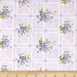 Afternoon In The Attic Flannel Memento Lavender Fabric