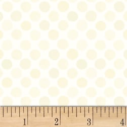 Lori's Art Garden Garden Dots Cream Fabric