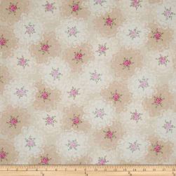 Newport Place Ambroise Floral Lace Cream Fabric