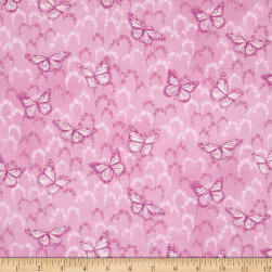 Newport Place Skycrest Butterflies Primrose Fabric