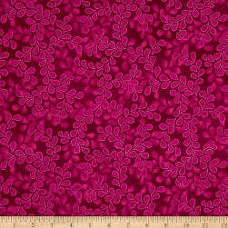 Newport Place Bay Hill Vine Dahlia Fabric
