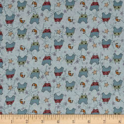 Summer Holiday Surfbirds Seaside Fabric