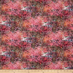 Reverie Digital Mirage In Bloom Sweet Pea Fabric