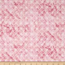 Serene Spring Morning Sparkle Blush Metallic Fabric