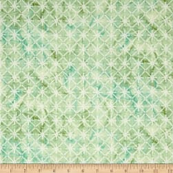Serene Spring Morning Sparkle Sprout Metallic Fabric