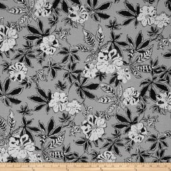 Kaufman Shimmer Pearl Metallic Collage Pewter Fabric