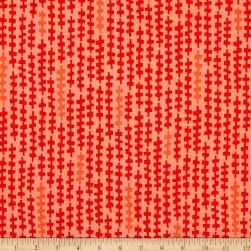 Kaufman Reef Strands Flame Fabric