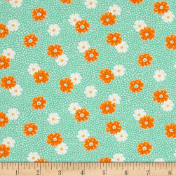 Kaufman Windowsill Garden Flower Aloe Fabric