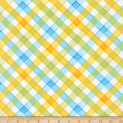 Kaufman Storybook Meadow Trellis Spring Fabric