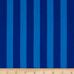 Kaufman Panache Stripe Blue