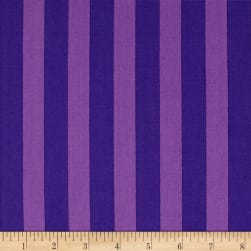 Kaufman Panache Stripe Purple
